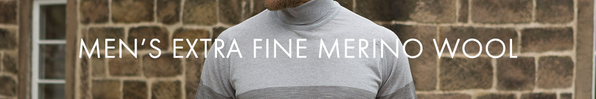 Men's Extra Fine Merino Wool