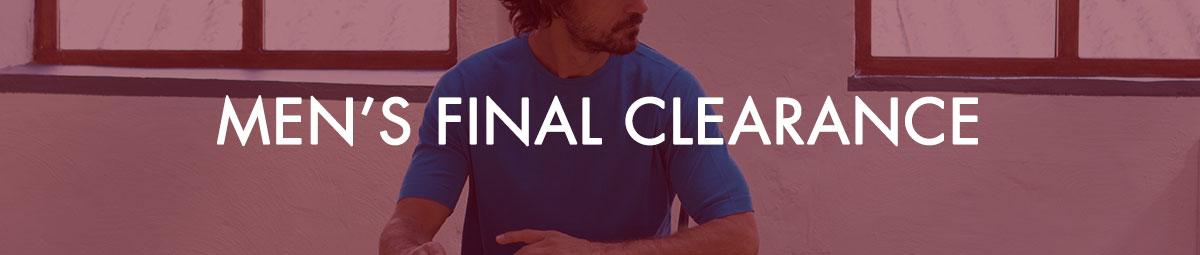 Men's Final Clearance