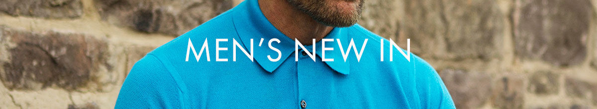 Men's New In
