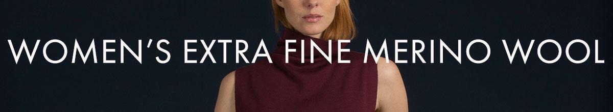 Women's Extra Fine Merino Wool