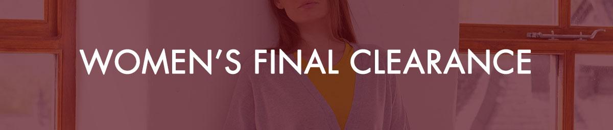 Women's Final Clearance