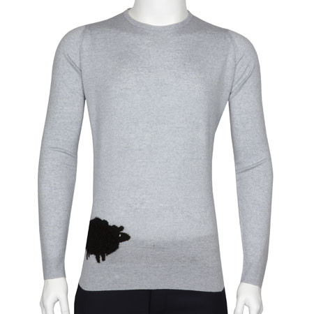 Sheep In Bardot Grey/Black
