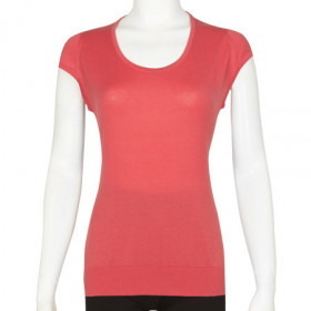 Carly in Ruche Red