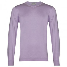 Hughes in Pintuck Lilac