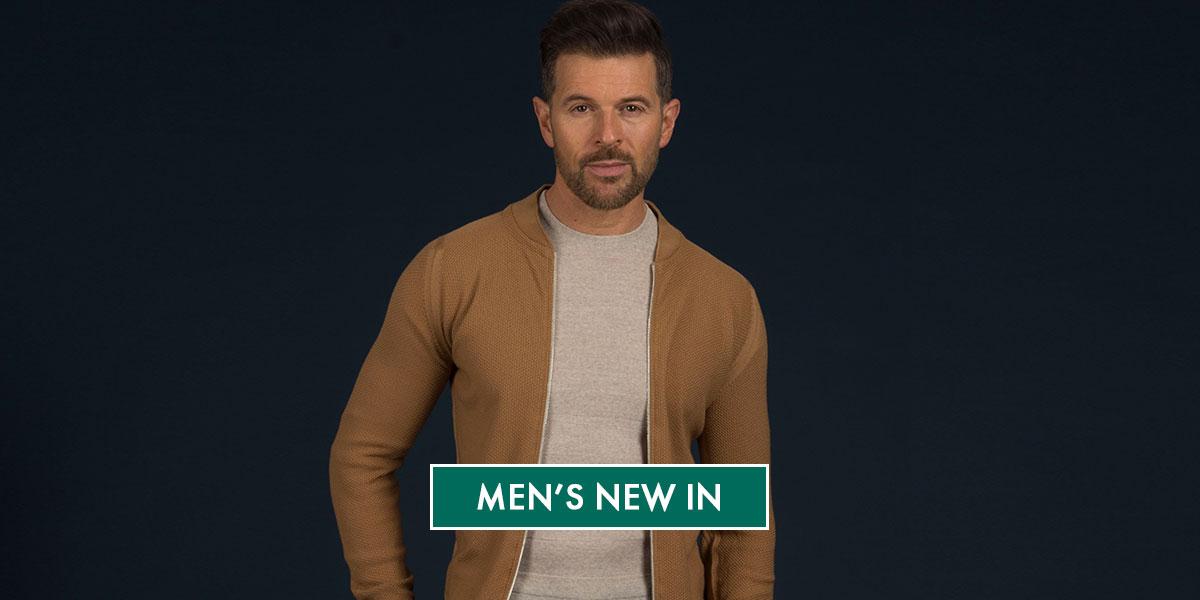 Men's New In