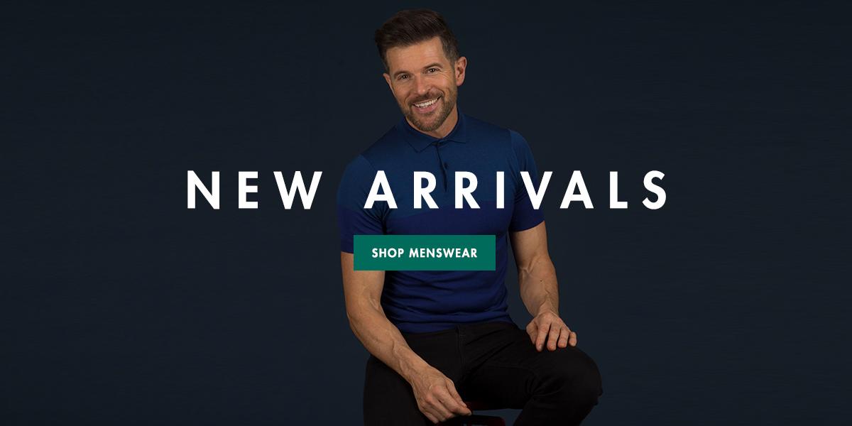 MENSWEAR - NEW ARRIVALS