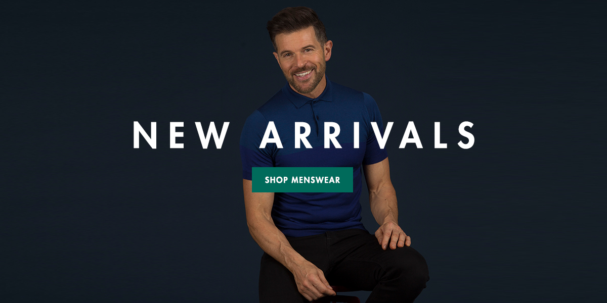MENSWEAR - NEW ARRIVALS